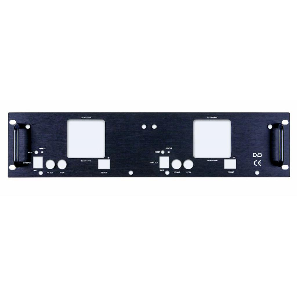 Dual rack mount panel tbv QM products DGL4500 en DGL8501